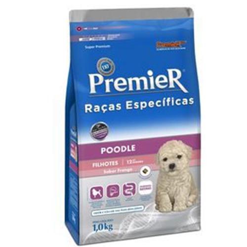 Ração Premier Raças Específicas Poodle Filhotes 1,0Kg