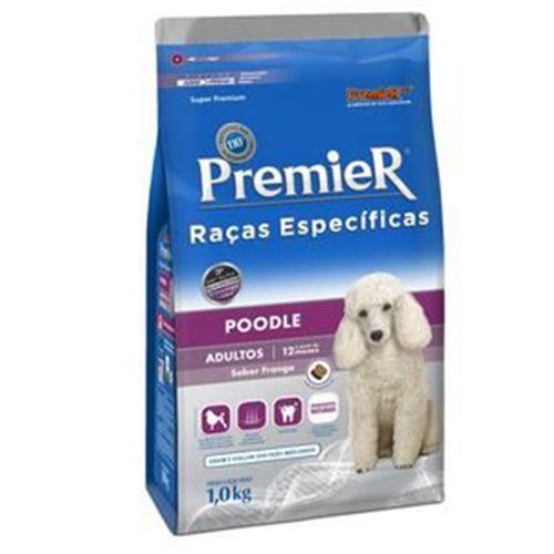 Ração Premier Raças Específicas Poodle Adultos 1,0Kg